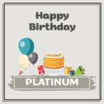Platinum Birthday Surprise