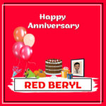 Red Beryl Anniversary Surprise