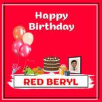 Red Beryl Birthday Surprise
