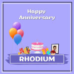 Rhodium Anniversary Surprise