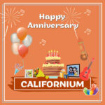 Californium Anniversary Surprise