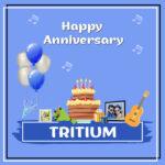 Tritium Anniversary surprise