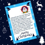 Christmas Gift – Personalized Letters
