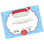 Being NICE Santa's Certificate – Christmas Gift 1