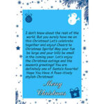Christmas Gift – Personalized Letters 1