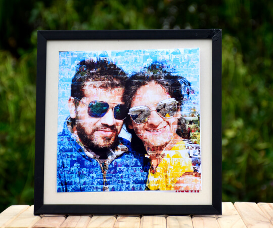 Mosaic photo art