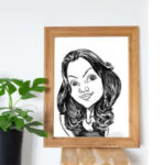Black Ink Caricature