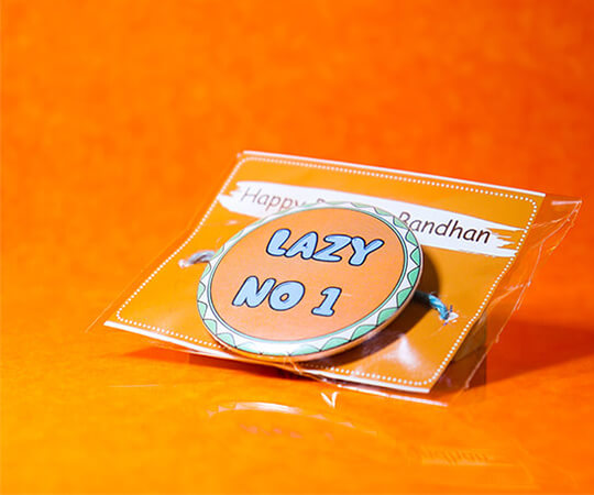 Lazy No.1 Rakhi