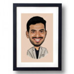 Caricature Photo Frame