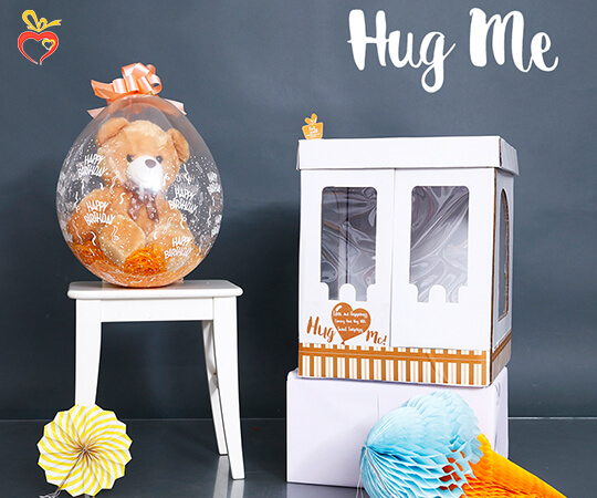 Box of Unlimited Hugs - Gift Box for Friend