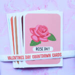 Countdown Cards For Valentine's Day