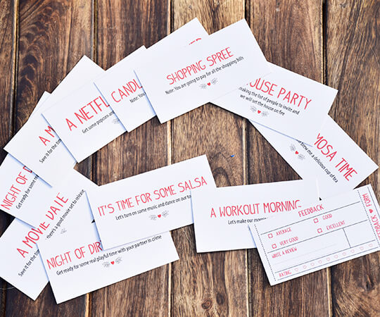 Redeemable Coupons For Valentines Day