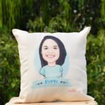 Caricature Cushion 1