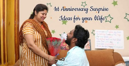 1st anniversary surprise ideas