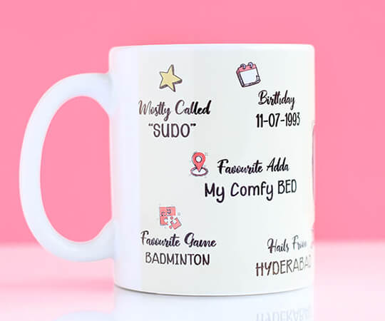 All About Me Coffee Mug