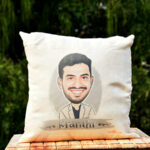 Caricature Cushion