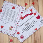 Valentines day love letter and certificate 1