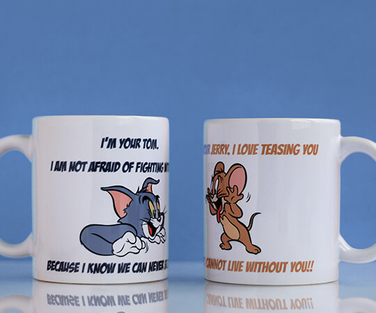 Tom & Jerry Mugs for Lovers