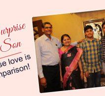 Birthday Surprise ideas for son