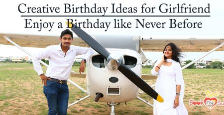 Creative birthday ideas for girlfriend