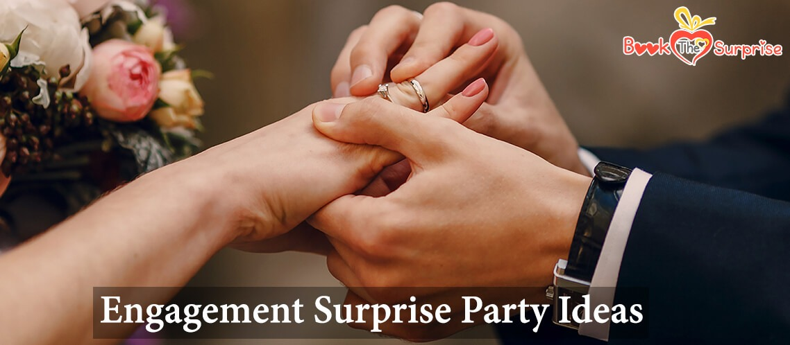 Engagement surprise party