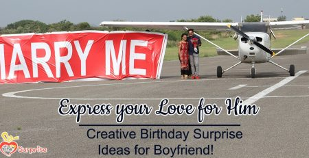 Creative Birthday Surprise Ideas For Boyfriend