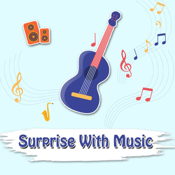 Surprise with Music