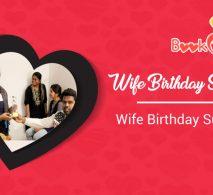wife birthday surprise gift ideas