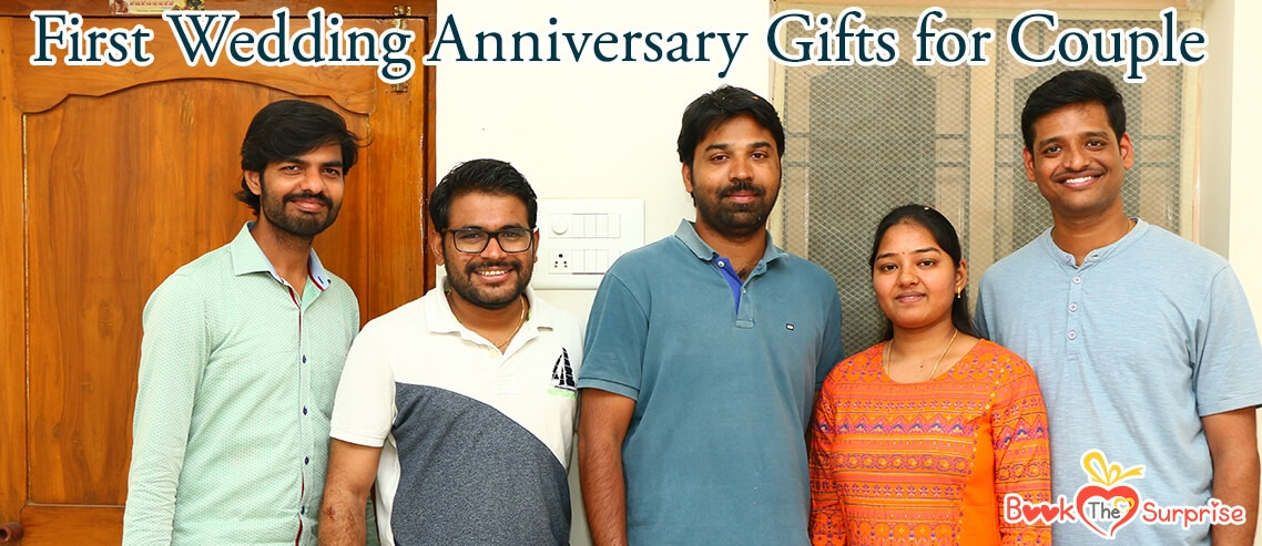 first wedding anniversary gifts for couple