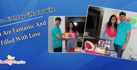 Birthday surprise for wife