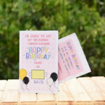 Birthday Countdown Greeting Card 3