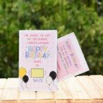 Birthday Countdown Greeting Card 3