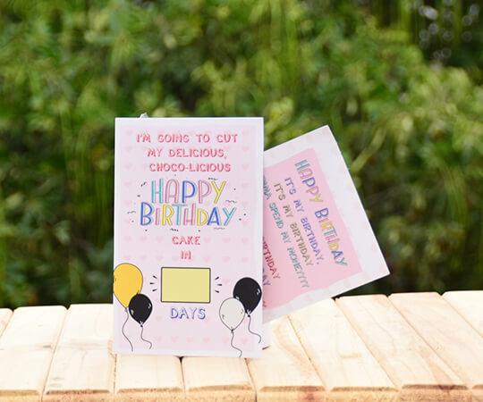 Birthday Countdown Greeting Card