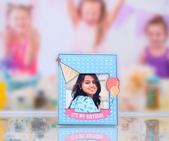 Birthday Bash- Fridge Magnet