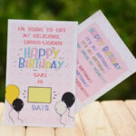 Birthday Countdown Greeting Card 1