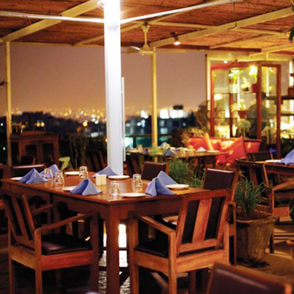 Lavish Terrace Dining