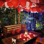 Romantic Gazebo Dining 1