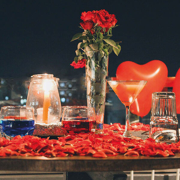 Romantic Dinner at the Rooftop