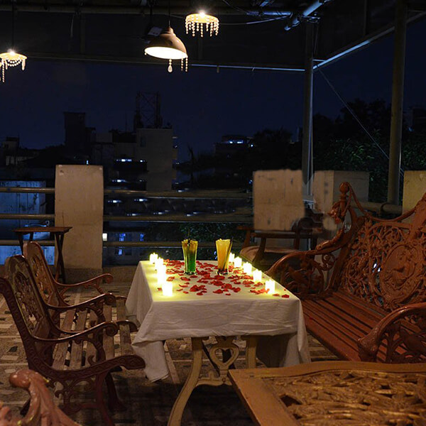 Romantic Dining in Terrace Gallery
