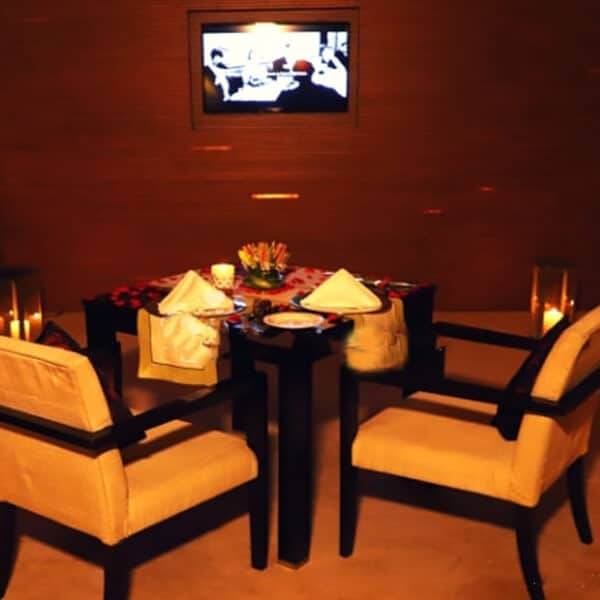 Private Dining with Movie Screening at Vivanta