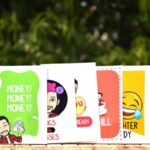 Bitmoji Hamper cards
