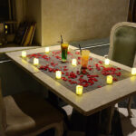 Classy Indoor Candle Light Dinner 1