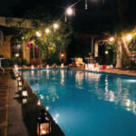 Romantic Poolside Dining at Hotel Heritage 1