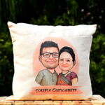 Caricature Couple Hamper 1