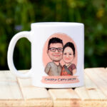 Caricature Couple Hamper 2
