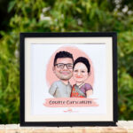Caricature Couple Hamper 3
