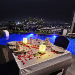 Luxurious Poolside Dining 1