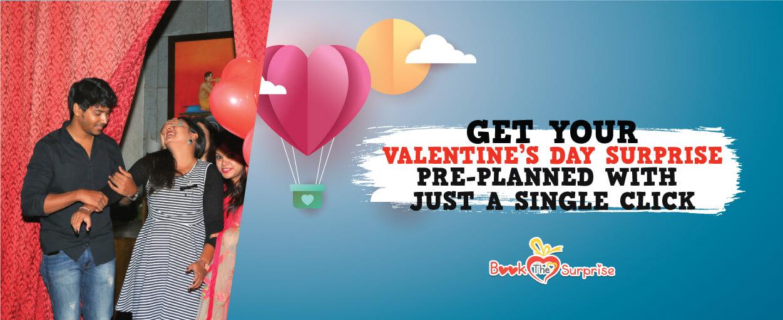 Valentine day surprise