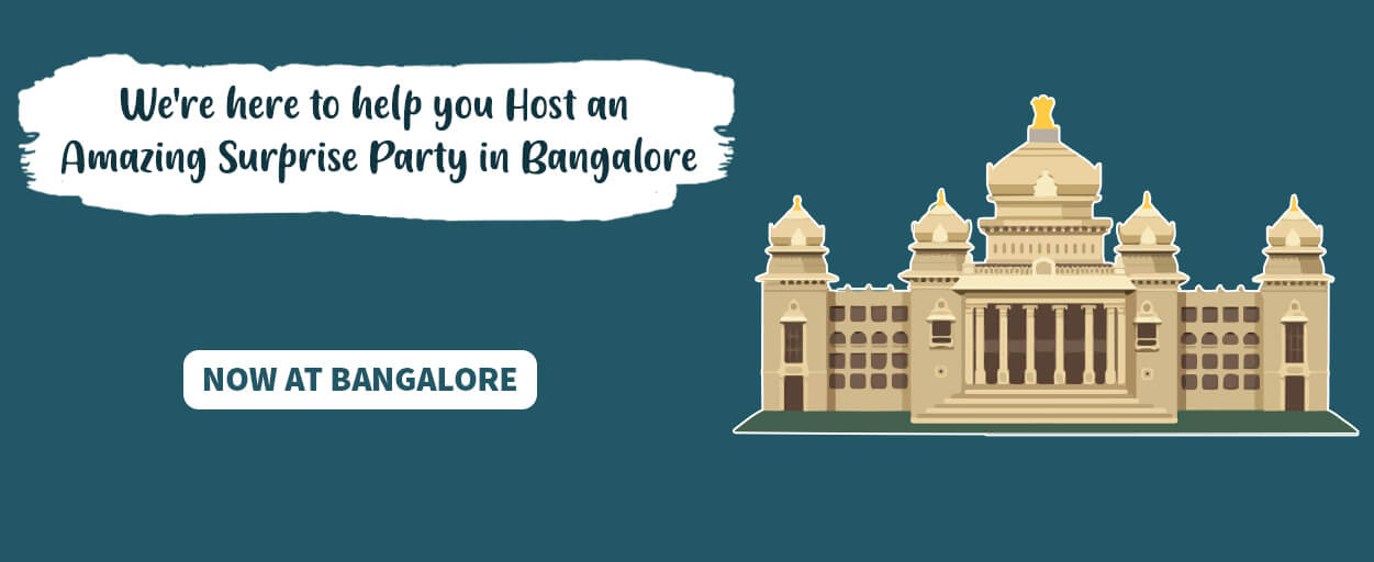 surprise party in bangalore