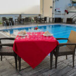Open Air Pool Side Dining at Marigold 7